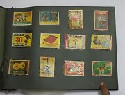 Indian Old Vintage Matchbox Mix Labels Sheet Indian Matches Box Collectible 06