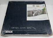 Kohler Kitchen Faucet With Sprayer And Some Parts / R 10412-cp New Open Box