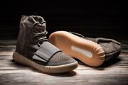 Adidas Yeezy Boost 750 Chocolate By2456 Size 9.5 100 Authentic Light Brown Gum