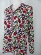 Matilda Jane Dusk Or Dawn Tunic Top Medium Women's Floral Top Once Upon A Time