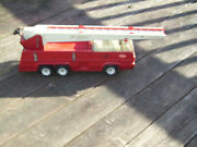Tonka Firetruck + Working Boom And Extending Ladder 1970's Good Condition