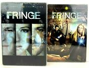 New Lot Of 2 Fringe The Complete First And Second Season Dvd Collections