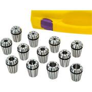 Grizzly T30611 Er25 Spring Collet, 12 Pc. Set