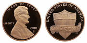 2010 2011 And 2012 Proof Lincoln Three Pennies From Us Mint Proof Sets Cp5111