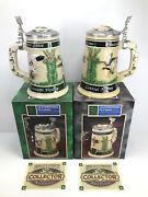 Lot Of 2 Budweiser Ducks Unlimited Central And Mississippi Waterfowl Flyway Stein