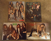 Skid Row Vintage Metal Magazine 155+ Pin-ups And Articles 35+ Scrapbook Clippings
