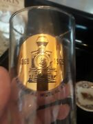 Six New York Central Railroad Mutual Assoc 100 Years Of Service 1969 H2o Glasses
