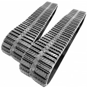 Two Rubber Tracks Fits Asv Rc50 15x4x42 15 Wide Hq Tread Free Shipping