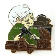 New Disney Parks Pixar Party 2016 Brave The Witch Crafty Wood Carver Pin Le 300