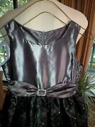 Super Nice - Jayne Copeland - Girland039s Fancy Dress - Silver/black Shiny - Size 8