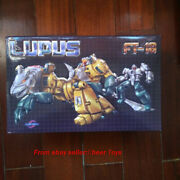 Fans Toys Fanstoys Ft18 Ft-18 Lupus Mp Transformable Robot New In Stock