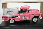 Very Rare Elvis Presley The King Of Rock And039nand039 Roll 1957 Chevy Pink Pickup Model