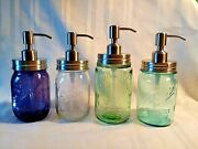 Ball Mason Stainless Steel Soap Dispensers Collectors Edition Jars