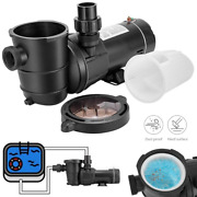 1.0/1.5/2.0 Hp Swimming Pool Water Pump In/above Ground Motor Strainer