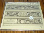 Vintage Craftaid 65444 Leather Belt Template 1 1/2 Name And Design Sealed