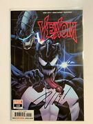 Venom Comic Issue 12 Cover A First Print 2019 Signed By Donny Cates With Coa Nm+