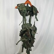 Lot Of 2 Army Load Bearing Vest | Bdu With All Pouches | Acu With No Pouches