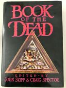 Book Of The Dead First Edition Hardcover Signed Horror   Printers Proof