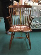 D.r. Dimes Furniture Step Back Windsor Chair Timeless Family Heirloom