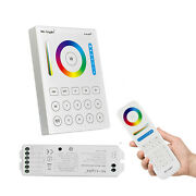 Wireless Remote Controller Wifi 2.4g Rf Dimmer For Rgbw Rgb Cct Led Strip Lights