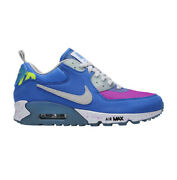 Nike Air Max 90 X Undefeated 'pacific Blue' Cq2289-400 Size 9.5 Undft Duck Camo