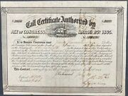 20000 Confederate States Call Certificate Andndash Criswell 135 Ball 275