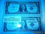 Uncirculated 1957 Blue Seal Comsecutively Numbered Silver Certificate Priest M82