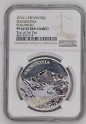 2016 Silver Proof £5 Snowdonia Trial Of The Pyx Ngc With Coa 1 Of Only 9