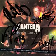 Pantera Mouth For War Fully Signed Dimebag Darrell Vinnie Paul Anselmo Autograph