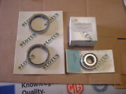 Nos Lotus 1 Inner + 1 Outer Front Hub Bearings + 2 Grease Seals Lotus Excel