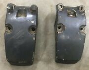 2528 Hp Yamaha Mariner Lower Housing Mount Stbd And Port 81609m 81610m 1976-1977