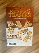 Game Gallery Solid Wood Teasers 7 Different Brain Busters Games
