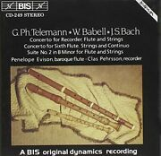 Illiam Babell - Works For Baroque Flute And Recorders [cd]
