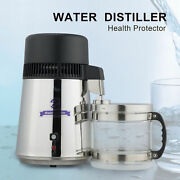 Water Distiller 304 4l Stainless Steel Purifier Thermostatically Control