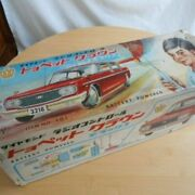 Yonezawa Toyopet Crown Tinplate Car With Box Rare Vintage From Japan 1959s Toy