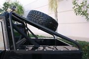 Hummercore Hummer H1 Slant Back Tire Carrier - For Soft Top Truck Free Shipping