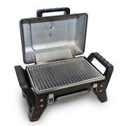 Large 23 Stainless Steel Portable Tabletop Propane Gas Grill Tailgating Cooking