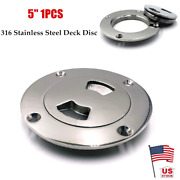 1pc 5 316 Stainless Steel Polished Deck Cover Cabin Plate For Boat Marine Yacht