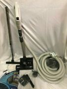 Central Vacuum 35 Foot Hose Accessory Kit Featuring Sebo Et-1 Carpet And Hard Fl