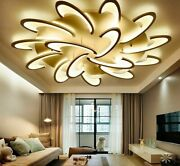 Brilliance Chandelier Ceiling Light Ultra-thin Plated Acrylic Iron Dome Lamp New