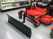 Zero Turn Mower Snow Plow 4 Ft Wide Snow Blade Made In The Usa