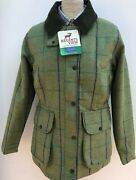 Regents View Womenand039s Ladies Tweed Country Shooting Jacket Four Pockets Hunting