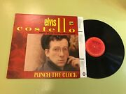 Elvis Costello And The Attractions Punch The Clock Columbia 1983 Lp Nm Orig Lyric