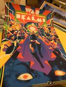 Mondo Marvel Avengers Thor War Of The Realms Matt Taylor Poster /275 Sold Out
