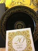 Versace Charger Plate Gold Baroque Wall 20 Years Rosenthal 12andrdquo Collectible