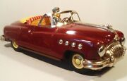 Buick Special Convertible 1950 Japan Made Driver Inside Dark Red Vintage Japan