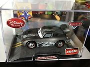 Disney Store Pixar Cars Chase Exclusive Silver Hot Rod Lightning Mcqueen Vhtf