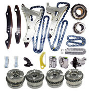 4xcamshaft Adjusters Timing Chain Kit For M276 Mercedes W212 A207 W221 3.0t 3.5l