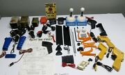 Huge Untested Lot Of Vintage Toy Slot Car Parts And Accessories / Must See