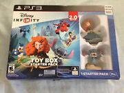 Disney Infinity 2.0 Edition Marvel Super Heroes Ps3 Starter Pack - Brand New